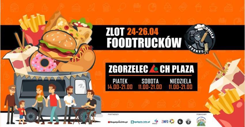 Zlot Food Trucków 2020 w Zgorzelcu