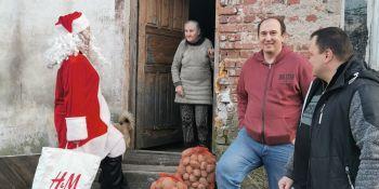 Mikołaj odwiedził gminne miejscowości - zdjęcie nr 13