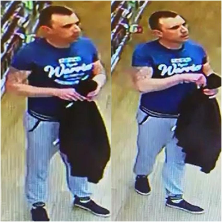 Poszukiwany przez policję sprawca kradzieży perfum / fot. KPP Zgorzelec