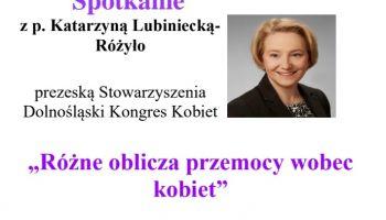 Spotkanie z Katarzyna Lubiniecką-Różyło w Zgorzelcu