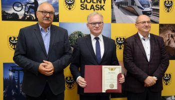 Przyznanie promes z projektu Odnowa Dolnośląskiej Wsi oraz na utrzymanie urządzeń melioracji wodnych