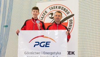 Filip Olszak i Wojciech Pawłowski z UKS Warrior Zgorzelec