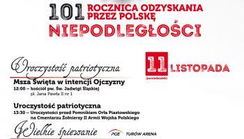Obchody 101. rocznicy Odzyskania Niepodległości w Zgorzelcu