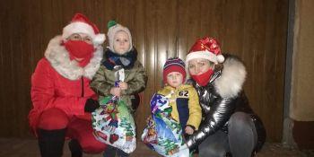 Mikołaj odwiedził gminne miejscowości - zdjęcie nr 2
