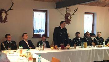 Zebranie sprawozdawcze członków OSP w Starym Węglińcu za rok 2019