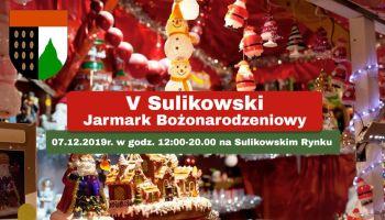 V Sulikowski Jarmark Bożonarodzeniowy