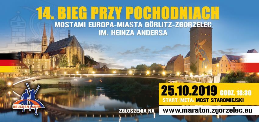 14. Bieg przy Pochodniach Mostami Europa-Miasta Görlitz – Zgorzelec im. Heinza Andersa