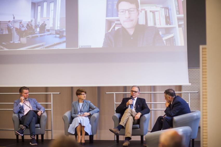 Panel dyskusyjny / fot. Jakub Purej
