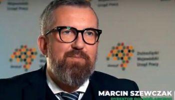 Marcin Szewczak – Dyrektor Dolnośląskiego Wojewódzkiego Urzędu Pracy / zdjęcie udostępnione przez DWUP