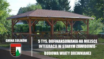 W Starym Zawidowie powstanie miejsce integracji / materiały prasowe Gminy Sulików