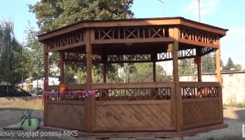 Przy Miejskim Klubie Seniora w Zgorzelcu powstała altana ogrodowa