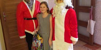 Mikołaj odwiedził gminne miejscowości - zdjęcie nr 9