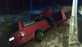 Skradziony na terenie żagańskiego VW Passat / fot. KPP Zgorzelec