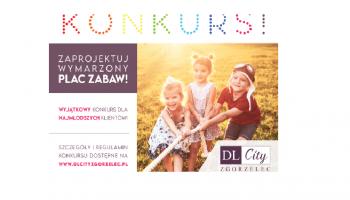 DL City Zgorzelec: Zaprojektuj wymarzony plac zabaw dla dzieci!