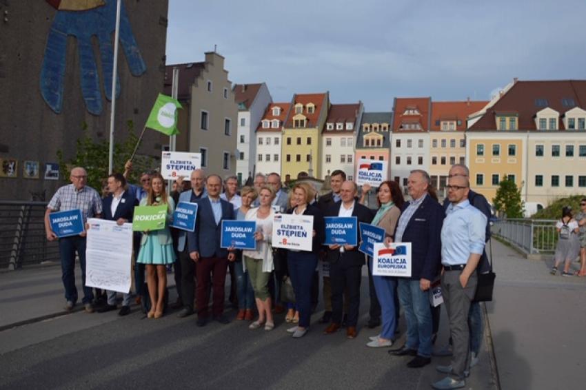 Briefing prasowy Koalicji Europejskiej w Zgorzelcu