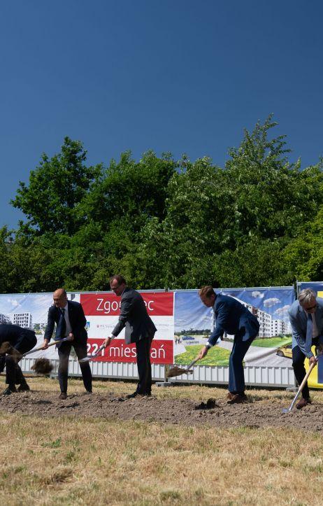 Rusza budowa 221 mieszkań przy ul. Lubańskiej w Zgorzelcu!