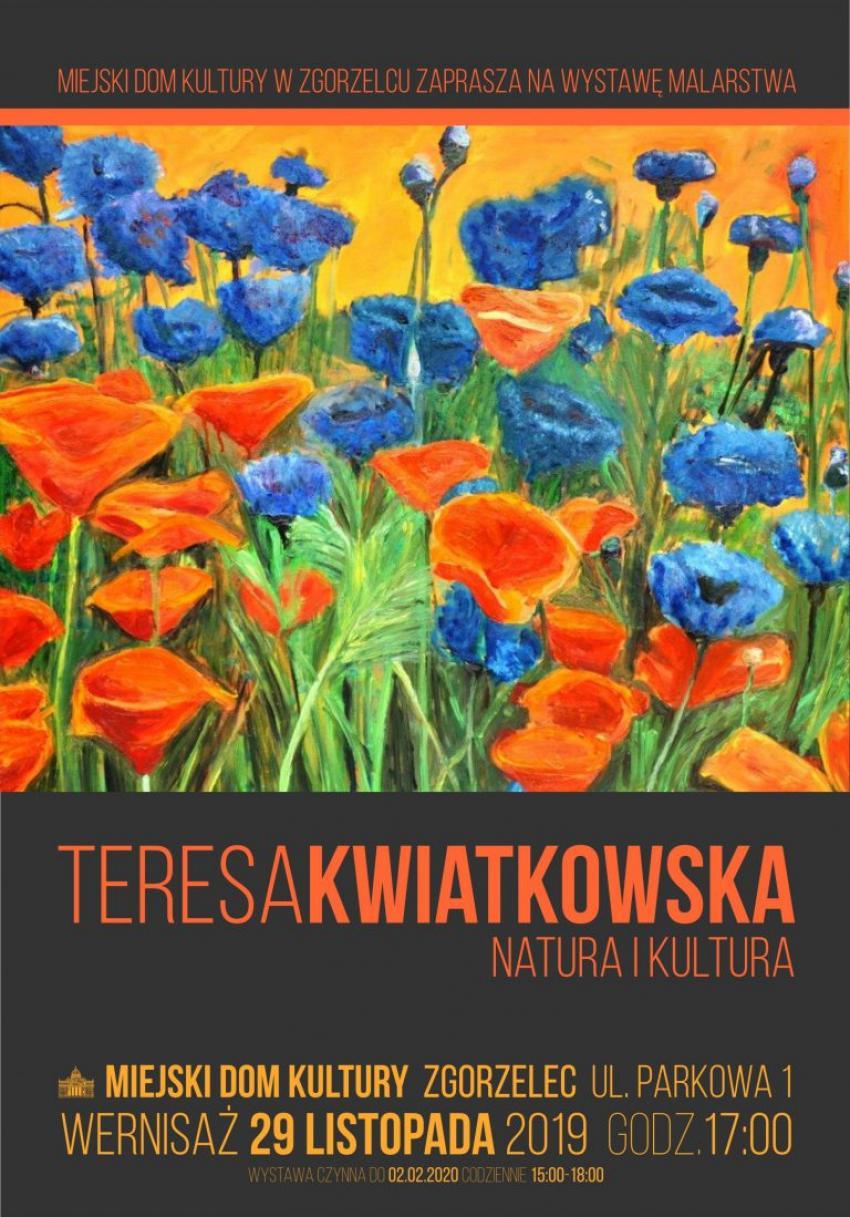 Wystawa prac plastycznych Teresy Kwiatkowskiej