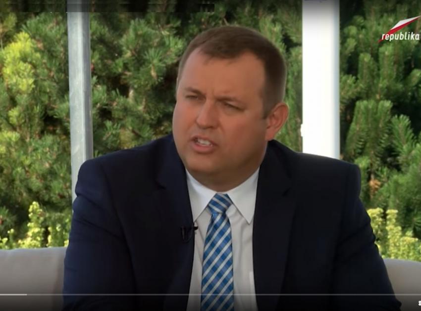 Sławomir Zawada - screen Tv Republika