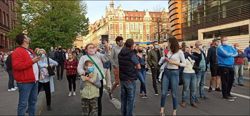Protesty na polsko-niemieckiej granicy. Pracownicy transgraniczni domagają się otwarcia granic - zdjęcie nr 6