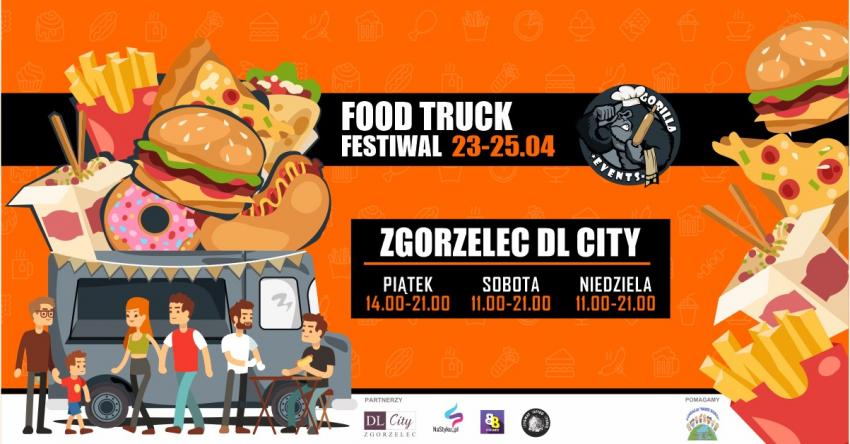 Food Truck Festiwal z Gorilla Events powraca do DL City w Zgorzelcu!