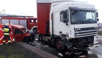 Śmiertelny wypadek na DK30 w Zgorzelcu / fot. KPP Zgorzelec
