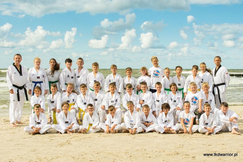 Letni obóz sportowy UKS Warrior Zgorzelec - zdjęcie nr 1