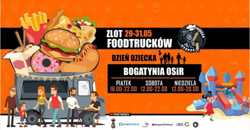 Dzień Dziecka z Foodtruckami i Gorilla Events w Bogatyni!