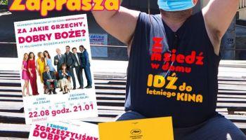 Letnie kino pod gwiazdami Zgorzelec 2020
