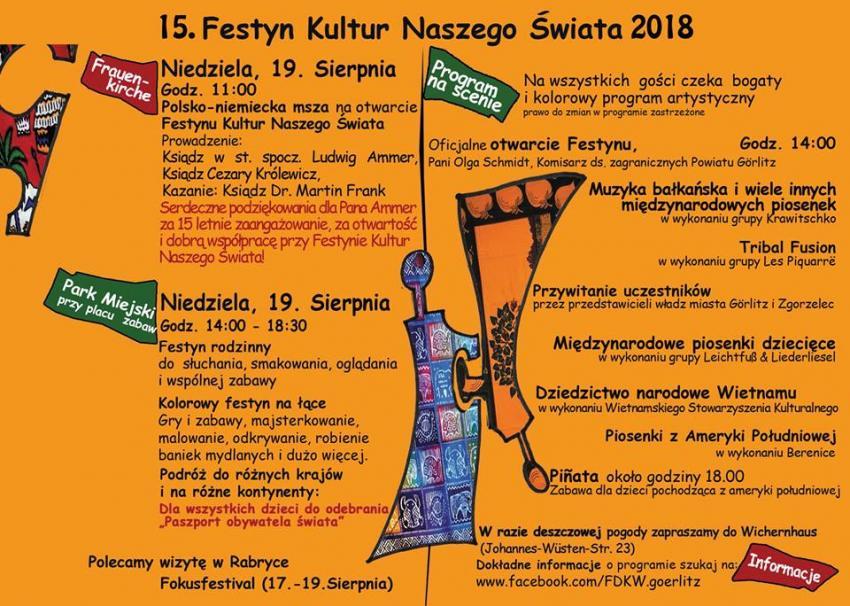 15. Festyn Kultur Świata