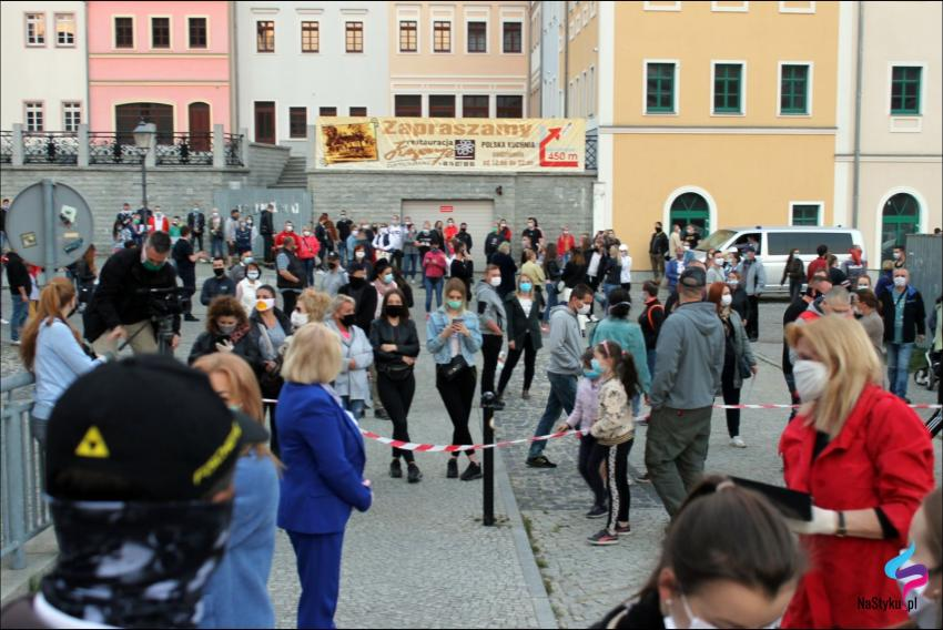 Protesty na polsko-niemieckiej granicy. Pracownicy transgraniczni domagają się otwarcia granic - zdjęcie nr 40
