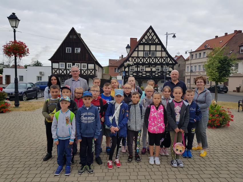 Wyjazd dzieci na kolonię do Niemiec / materiały prasowe Gminy Sulików