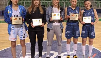 Patrycja Lipniacka z UKS Basket Zgorzelec została wybrana do najlepszej piątki turnieju