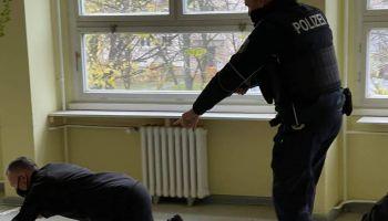 Polsko-niemieckie ćwiczenia na granicy / fot. NOSG