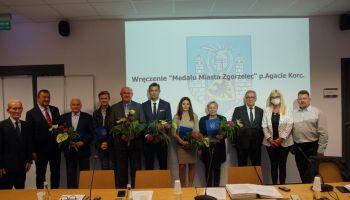 Medaliści Miasta Zgorzelec / fot. UM Zgorzelec