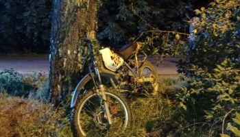 Śmiertelny wypadek w Radzimowie. Nie żyje 39-letni motocyklista [ZDJĘCIA]