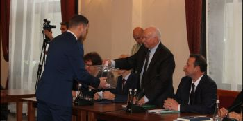 Inauguracyjna sesja Rady Miasta Zgorzelec - zdjęcie nr 50
