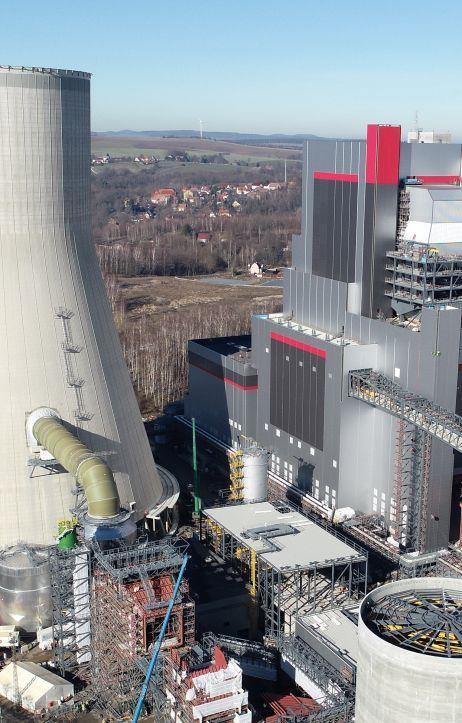 Nowy blok w Elektrowni Turów gotowy w 89%