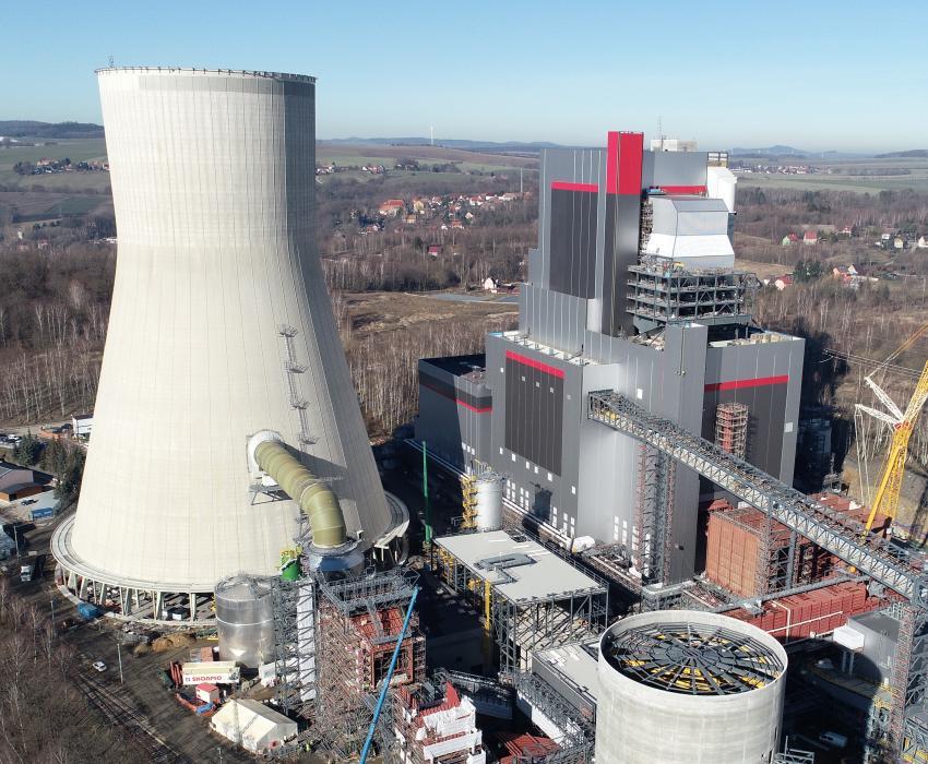 Nowy blok - Elektrownia Turów / materiały prasowe PGE GiEK S.A.