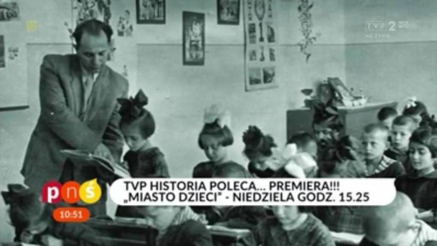 """""""Miasto dzieci"""" emisja: niedziela, godz. 15.25 TVP Historia PREMIERA! (materiały prasowe Telewizja Polska S.A.)"""