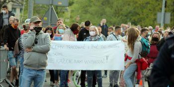 Protesty na polsko-niemieckiej granicy. Pracownicy transgraniczni domagają się otwarcia granic - zdjęcie nr 17