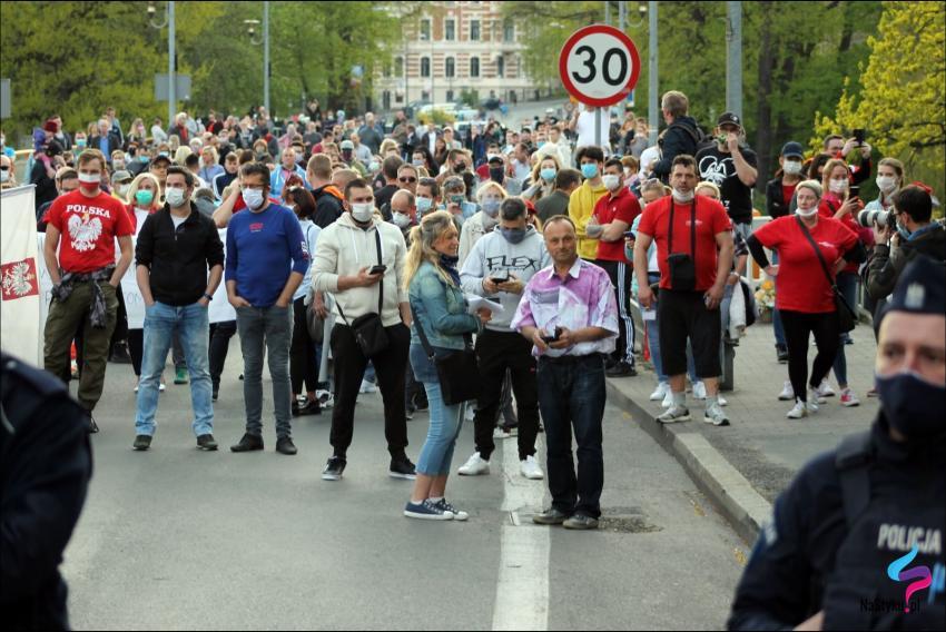 Protesty na polsko-niemieckiej granicy. Pracownicy transgraniczni domagają się otwarcia granic - zdjęcie nr 23