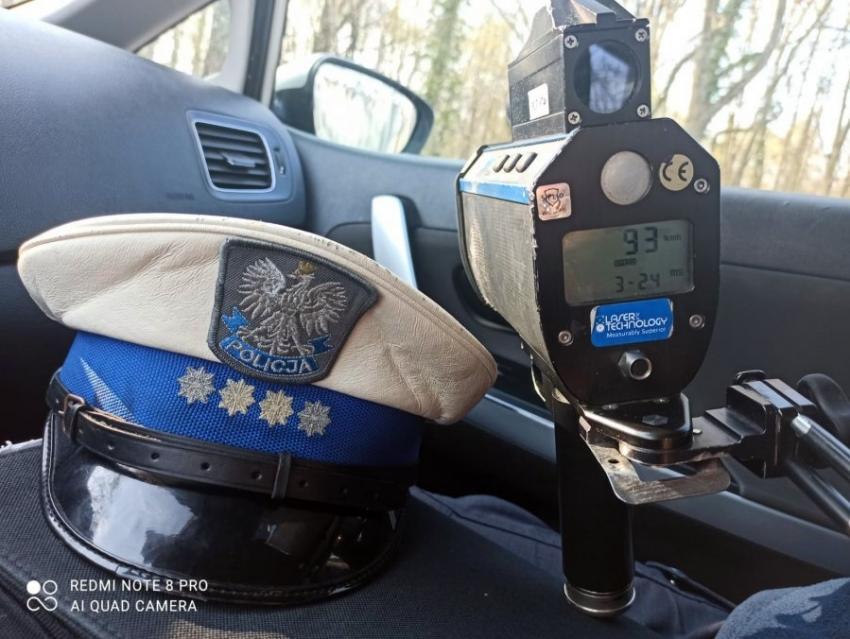 Policyjny radar / fot. KPP Zgorzelec