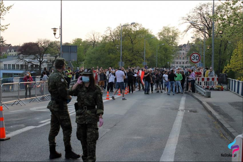 Protesty na polsko-niemieckiej granicy. Pracownicy transgraniczni domagają się otwarcia granic - zdjęcie nr 10