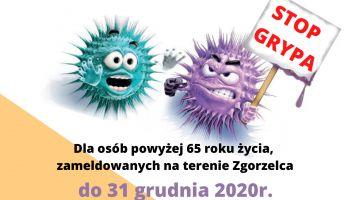 Bezpłatne szczepienia przeciw grypie dla mieszkańców Zgorzelca powyżej 65. roku życia
