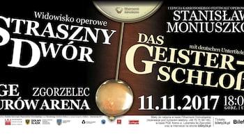 """Polska opera narodowa """"Straszny Dwór"""""""