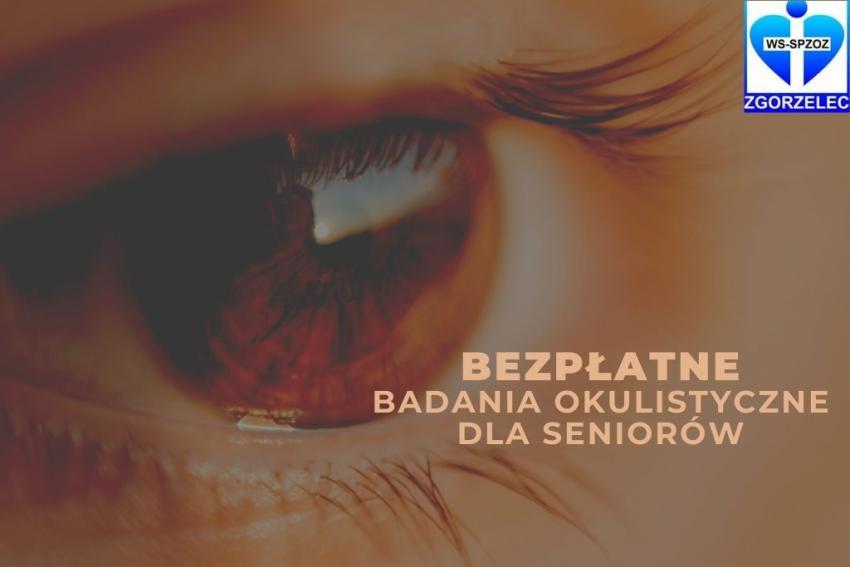 Bezpłatne badania okulistyczne dla seniorów