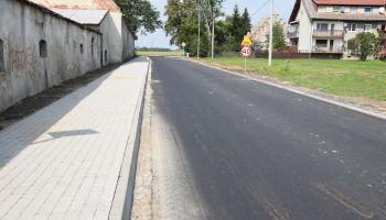 Droga powiatowa nr 2397D w Jerzmankach / materiały prasowe Starostwa Powiatowego w Zgorzelcu