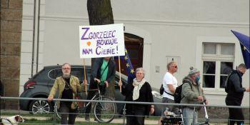 Protesty na polsko-niemieckiej granicy. Pracownicy transgraniczni domagają się otwarcia granic - zdjęcie nr 34