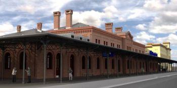 Tak będzie wyglądał dworzec kolejowy w Węglińcu po przebudowie. Zobacz wizualizację! - zdjęcie nr 4