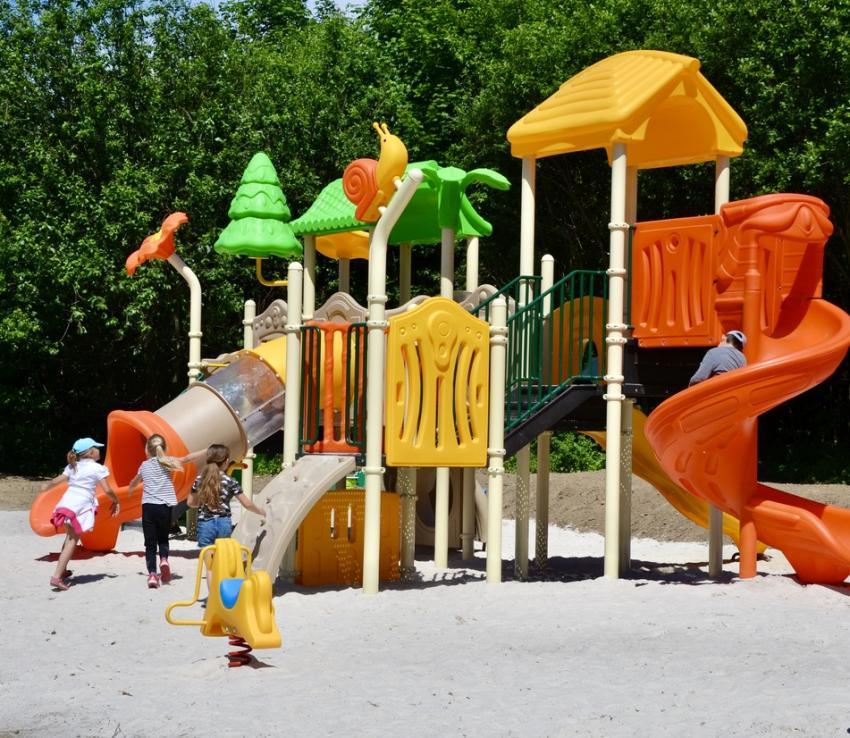 Plac zabaw / fot. Urząd Miejski w Zawidowie
